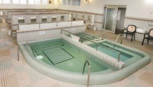 大浴場のメイン浴槽の画像