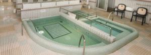 大浴場のジャグジー風呂の画像
