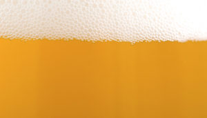 ビールの泡のイメージ画像